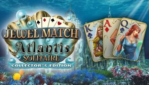 Jewel Match Atlantis Solitaire - Collector's Edition cover
