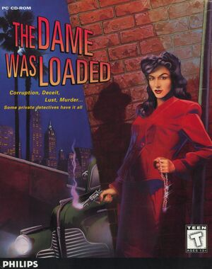 The Dame Was Loaded cover