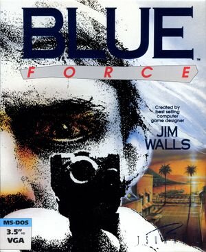 Blue Force cover