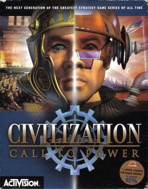 Civilization: Call to Power cover