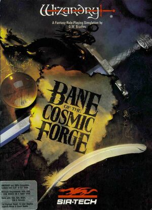 Wizardry: Bane of the Cosmic Forge cover