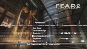 """Performance"" Settings"