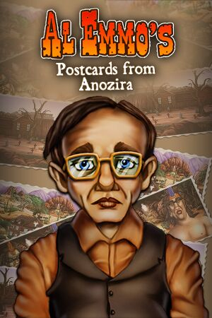 Al Emmo's Postcards from Anozira cover