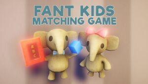 Fant Kids Matching Game cover