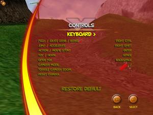 Keyboard Remap Screen