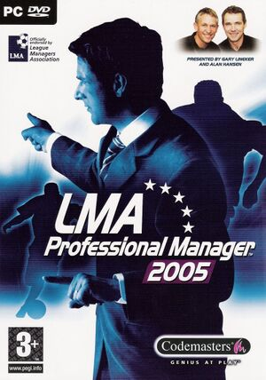LMA Professional Manager 2005 cover