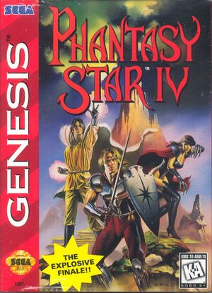 Phantasy Star IV:The End of the Millennium cover