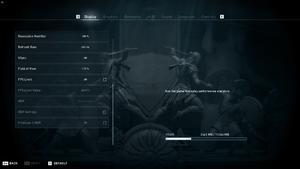 Display settings (2/2)
