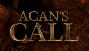 Acan's Call: Act 1 cover