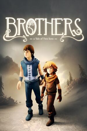 Brothers: A Tale of Two Sons cover