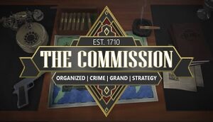 The Commission: Organized Crime Grand Strategy cover