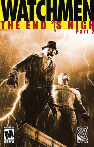 Watchmen: The End is Nigh Part 2 cover