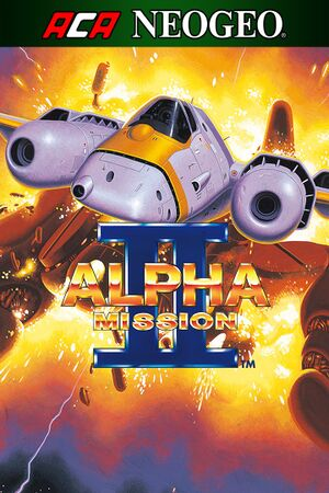 Alpha Mission II cover