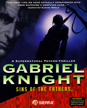 Gabriel Knight: Sins of the Fathers cover