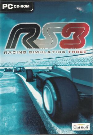 RS3: Racing Simulation Three cover