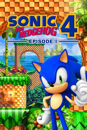 Sonic the Hedgehog 4: Episode I cover