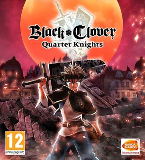 Black Clover: Quartet Knights cover