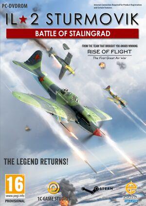 IL-2 Sturmovik: Battle of Stalingrad cover