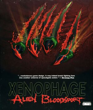 Xenophage: Alien Bloodsport cover