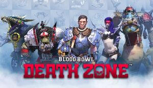 Blood Bowl: Death Zone cover