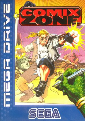 Comix Zone cover