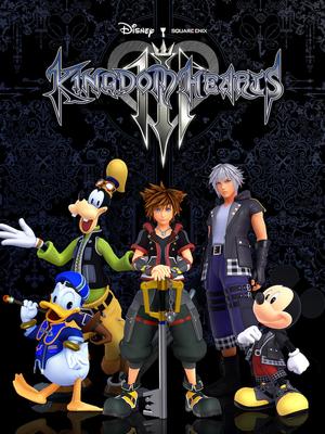 Kingdom Hearts III cover