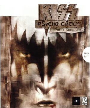 Kiss: Psycho Circus: The Nightmare Child cover