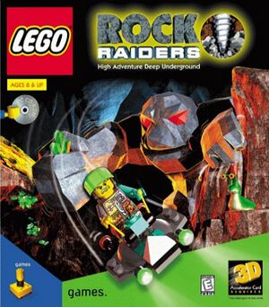 Lego Rock Raiders cover