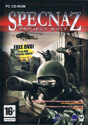 Specnaz: Project Wolf cover