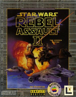 Star Wars: Rebel Assault II: The Hidden Empire cover
