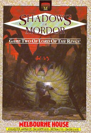 The Shadows of Mordor cover