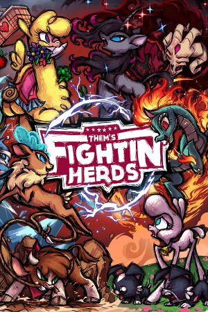 Them's Fightin' Herds cover