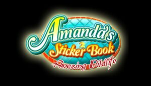 Amanda's Sticker Book 2 - Amazing Wildlife cover