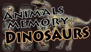 Animals Memory: Dinosaurs cover