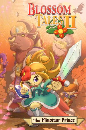 Blossom Tales 2: The Minotaur Prince cover