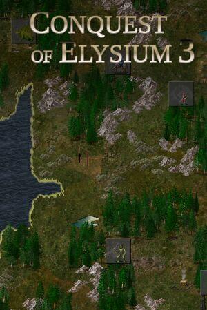 Conquest of Elysium 3 cover