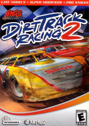 Dirt Track Racing 2 cover