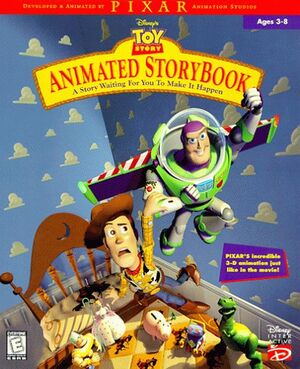 Disney's Animated Storybook: Toy Story cover