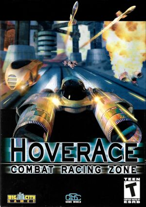 Hover Ace: Combat Racing Zone cover