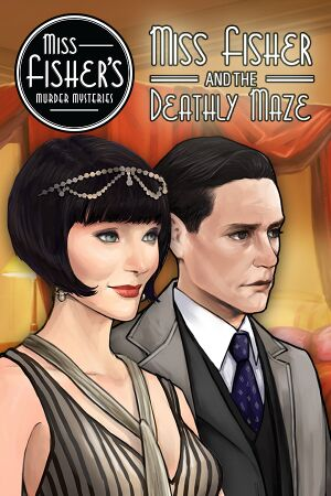 Miss Fisher and the Deathly Maze cover