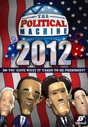 The Political Machine 2012 cover