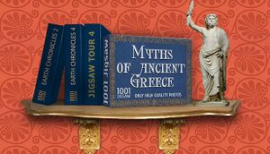 1001 Jigsaw. Myths of ancient Greece cover