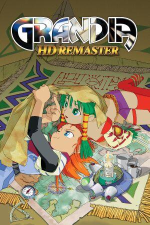 Grandia HD Remaster cover