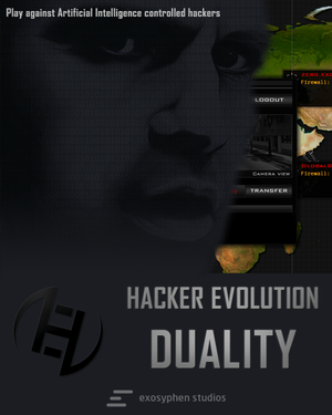 Hacker Evolution: Duality cover