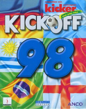 Kick Off 98 cover
