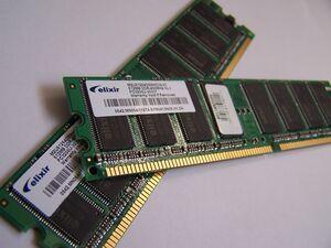 A pair of RAM modules