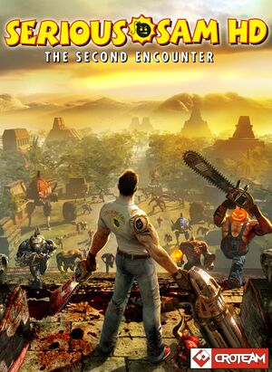 Serious Sam HD: The Second Encounter cover