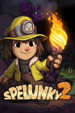 Spelunky 2 cover