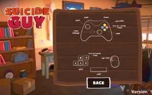 In-game controls layout menu