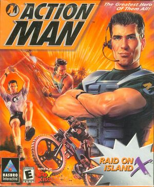 Action Man: Raid on Island X cover